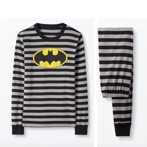NWT Adult Organic Cotton Batman Hanna Andersson PJ